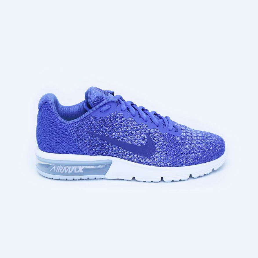 6564a382d9fca Tenis Air Max Sequent 2 - Mujer - Azul-8.5 ...