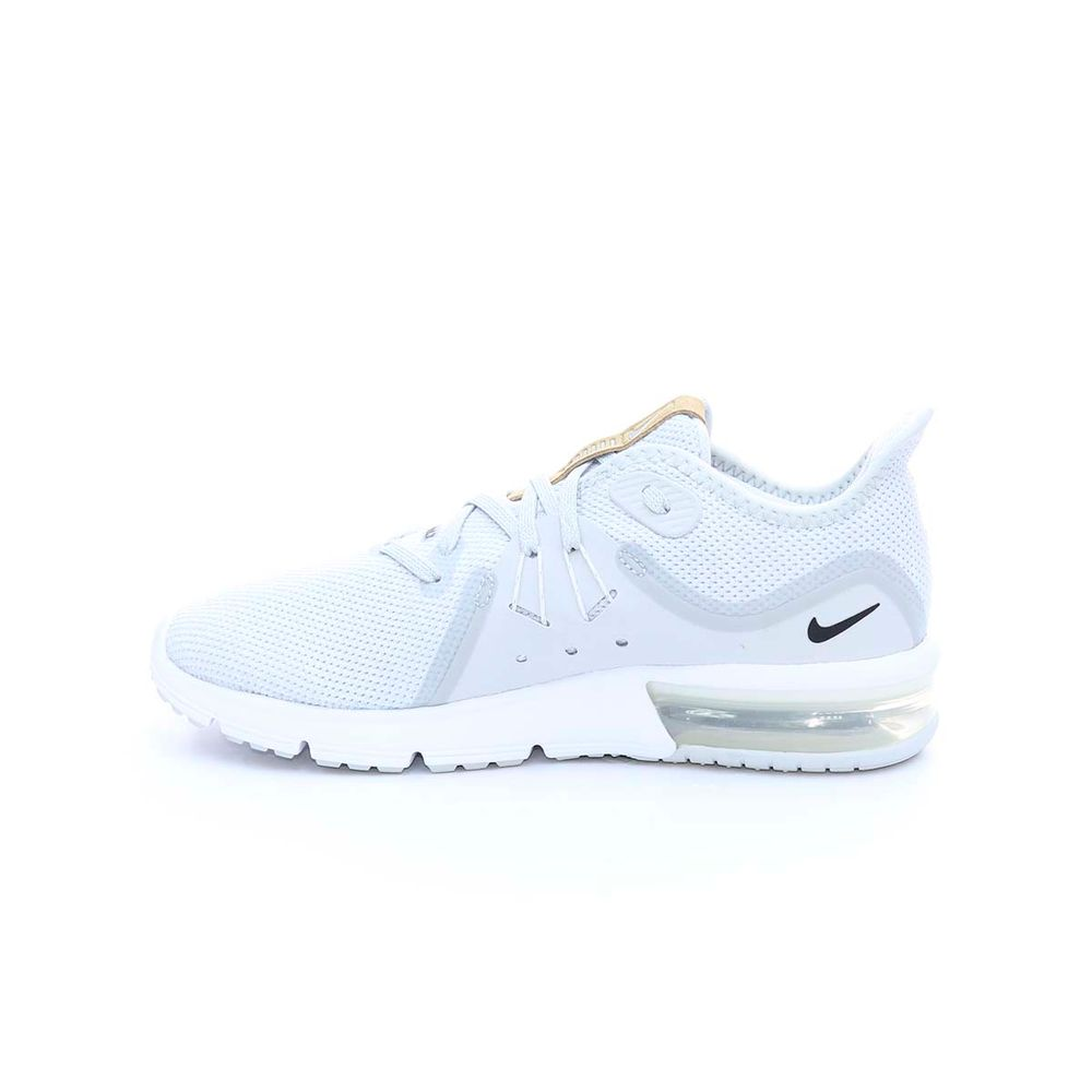 Tenis Wmns Nike Air Max Sequent Gridm Mujer Gris