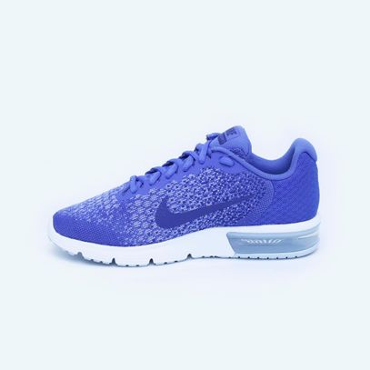 ca52cb7307d ... Tenis Air Max Sequent 2 - Mujer - Azul-7. nike