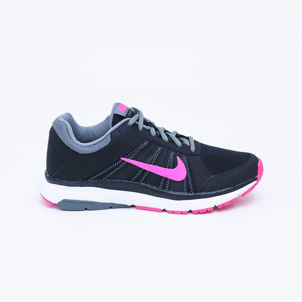 Tenis Nike Dart 12 Msl Mujer Negro